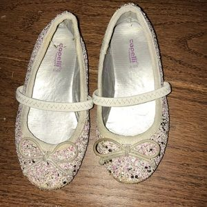 Capelli sparkly toddler shoes flats